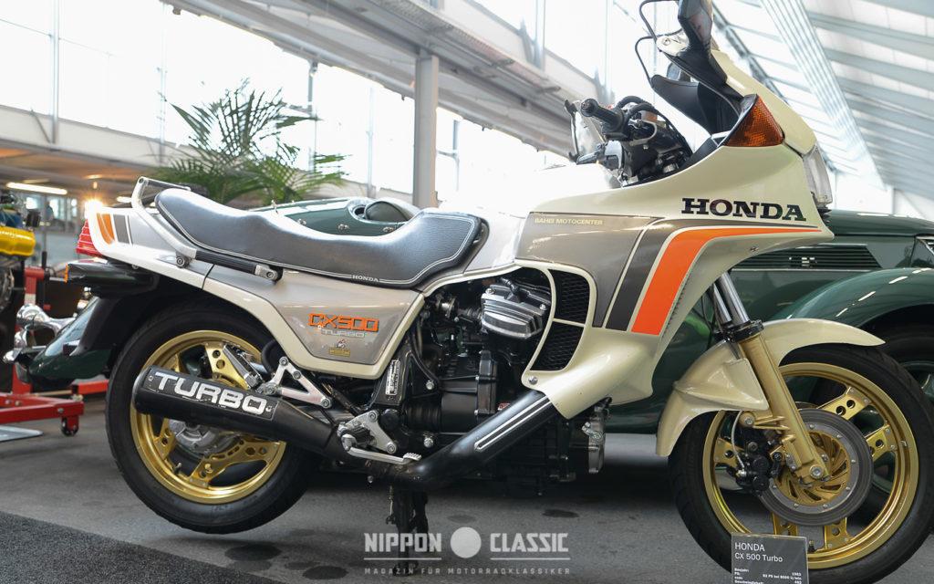 Die Honda CX 500 Turbo eröffnete das Turbo-Wettrüsten 1980