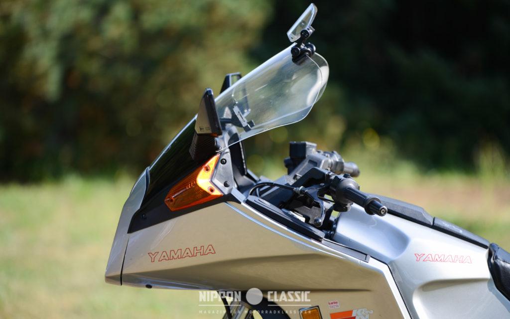Die Verkleidung der XJ 650 Turbo sorgte für einen geringen CW-Wert