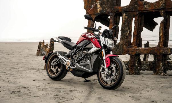 Zero SR/F Naked Bike mit E-Power