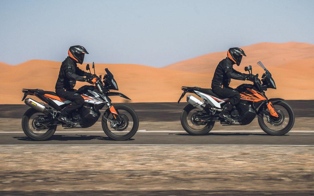 Testfahrt: KTM 790 Adventure R und 790 Adventure