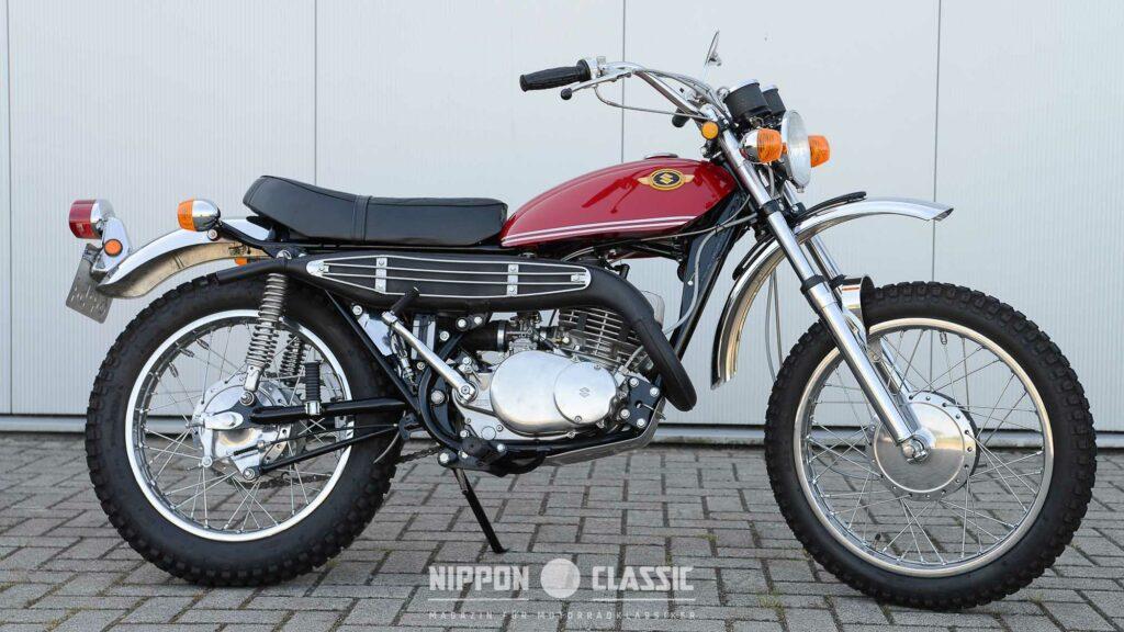 Aus dem Debütjahr: Suzuki TS 250 von 1969