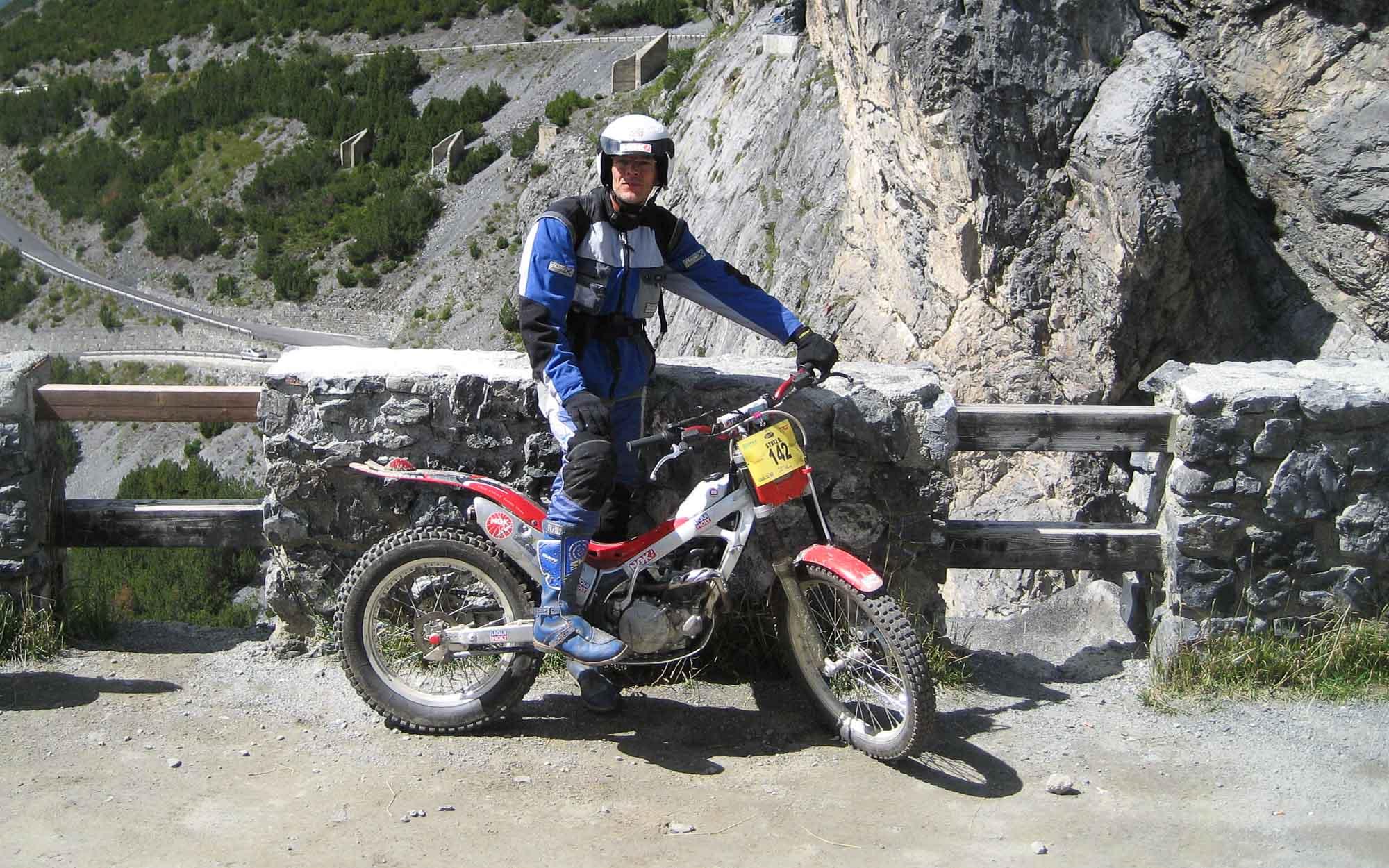 Trial-Fahrer Reimund Stotz antwortet zum Thema Motoröl