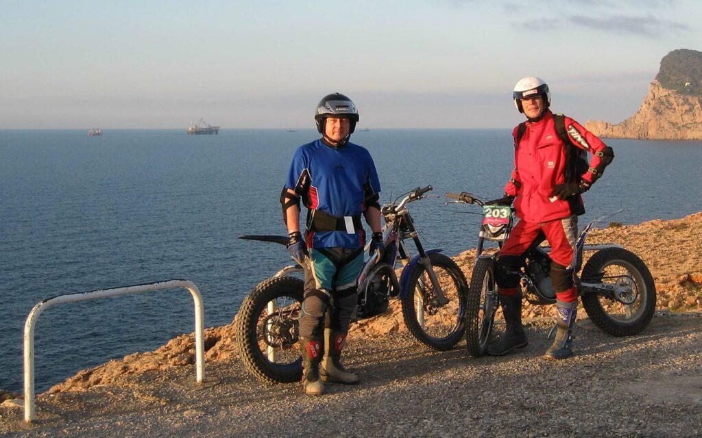 Trial-Fahrer Reimund Stotz ist Experte zum Thema Motoröl
