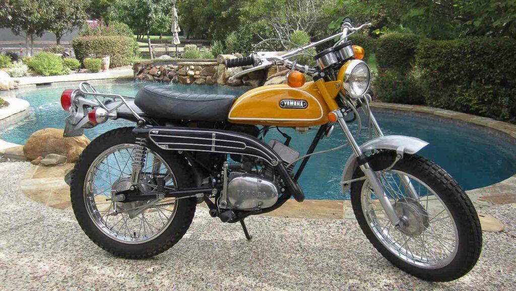 Die Yamaha CT 1 von 1969 hatte eine knuffige Form