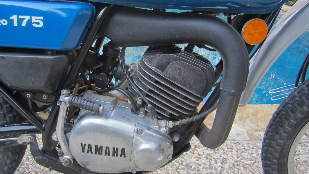 Der DT 175 Motor besaß nun eine Mebramsteuerung für eine bessere Leistungsausbeute