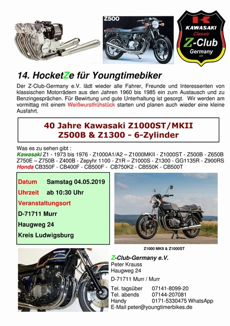 14. HocketZe 2019 vom Z-Club Germany