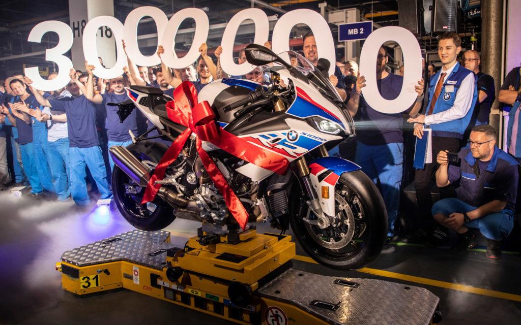 Seit 1969 rollten drei Millionen BMW Motorräder vom Band in Berlin