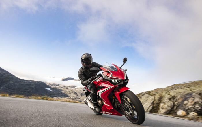 Die überarbeitete Honda CBR500R für 2019