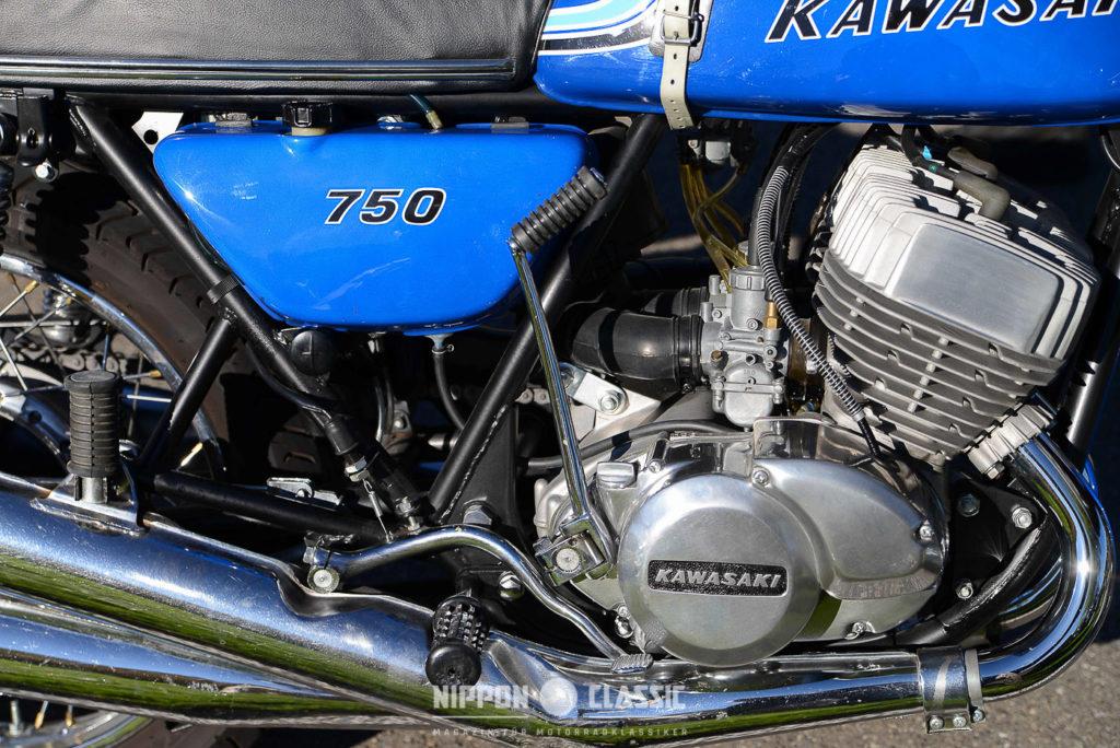 Die Kawasaki war damals ein echter Hecht im Karpfenteich