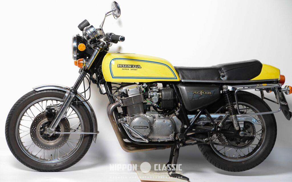 1975 debütierte die Honda CB 750 F1 Super Sport