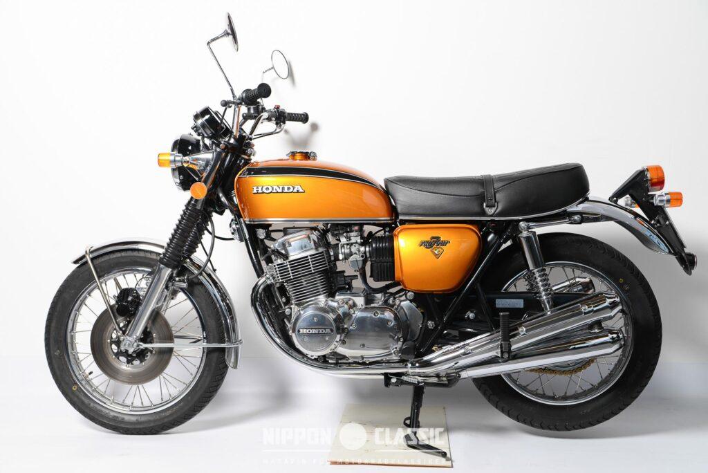 Sie gilt als Jahrhundert-Motorrad: die Honda CB 750 Four