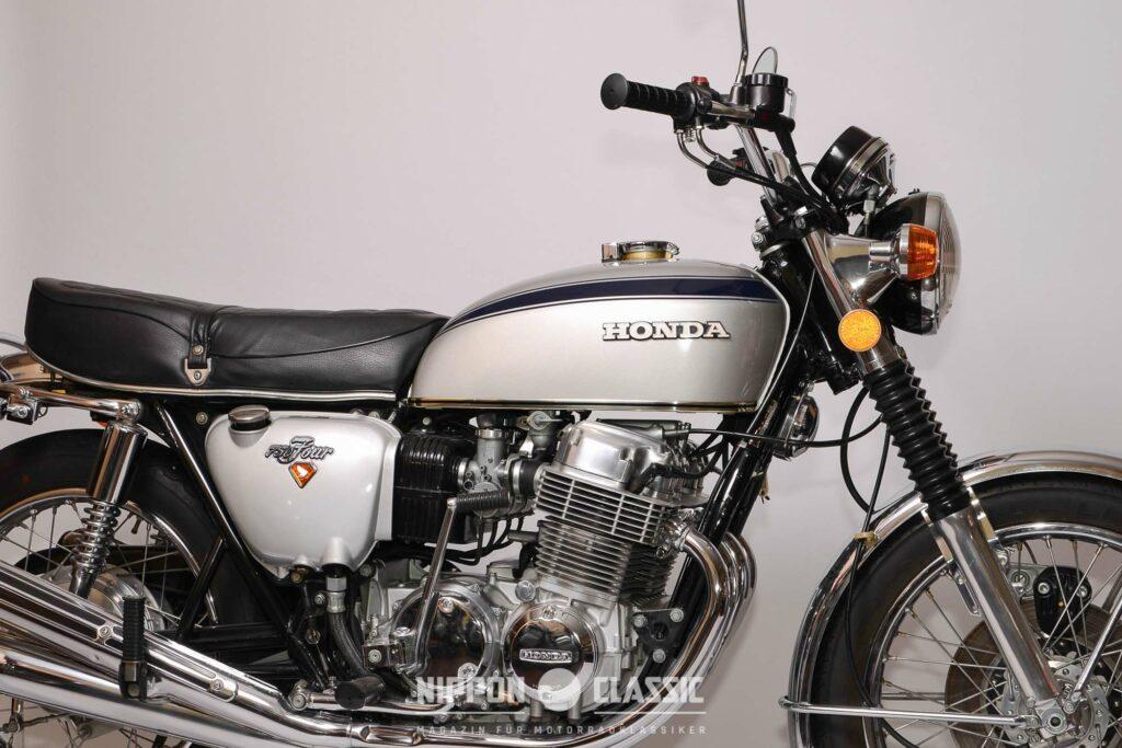 Sieht aus wie aus dem Laden: seltenen Japan-Modell der CB750Four
