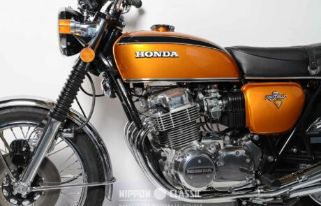 CB 750 Four in Candy-Gold