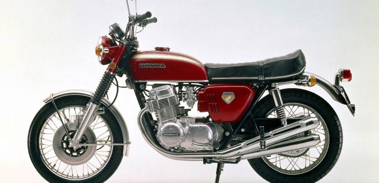 Die Honda CB 750 Four setzte1969 neue Maßstäbe
