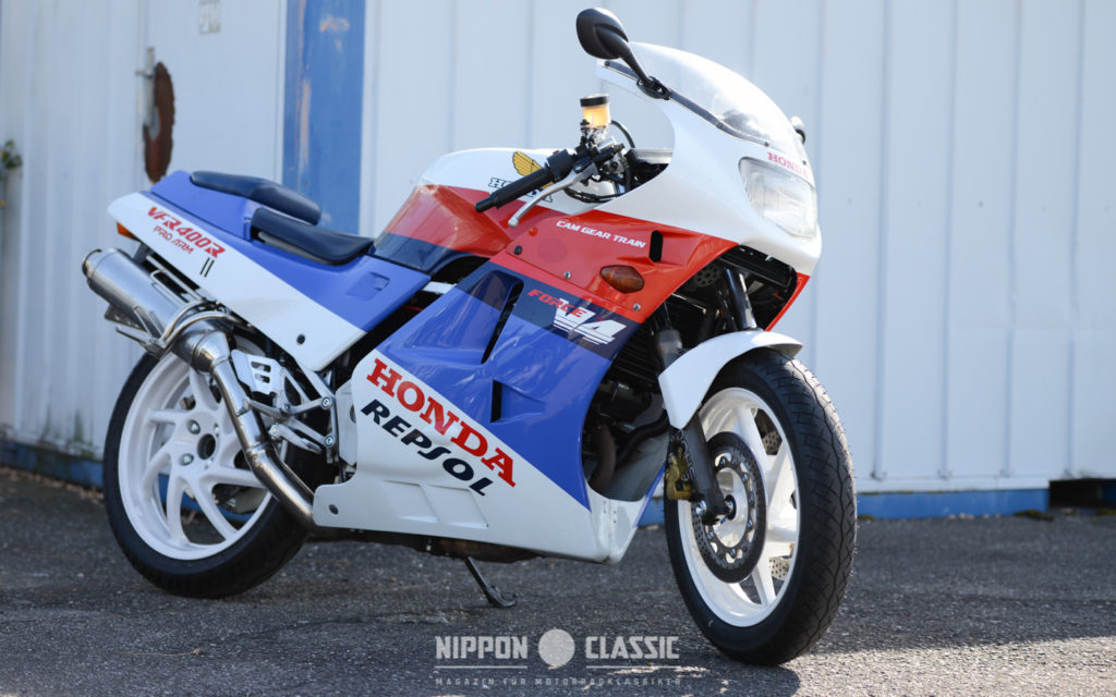 Begegnung der seltenen Art - Honda VFR 400 R  NC24