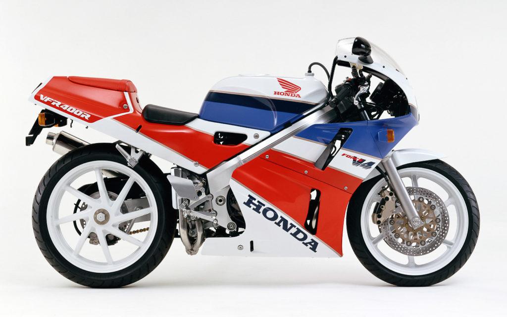 Honda VFR400 R NC30 im neuen Design