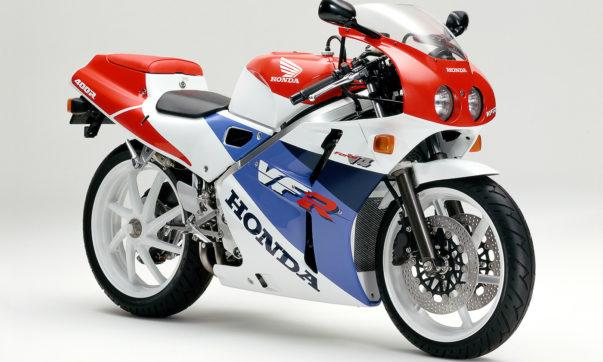 Die Doppelscheinwerfer der Honda VFR400 R waren uns offiziell nicht vergönnt