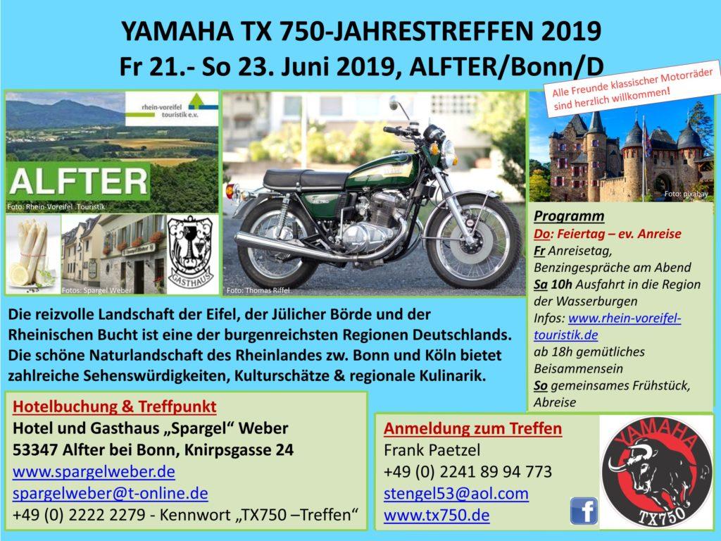 TX 750 Jahrestreffen 2019 in der Eifel