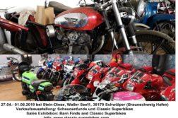 Scheunenfunde und Classic Superbikes