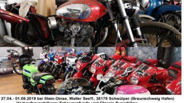 Scheunenfunde und Classic Superbikes vom 27.04. – 01.06.2019
