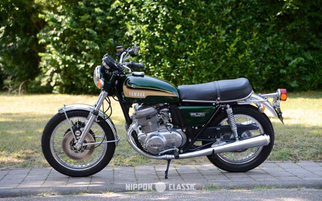 In Schönheit sterben war das unfreiwillige Motto der Yamaha TX 750