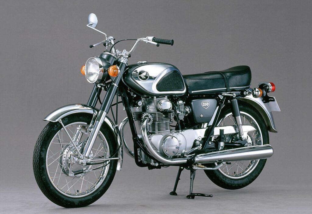 Honda CB 250 K1 aus dem Jahr 1968