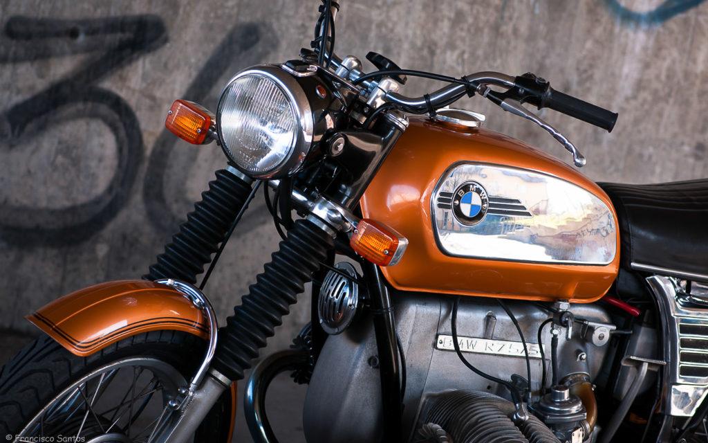 Feierte 1969 Premiere: BMW R75/5