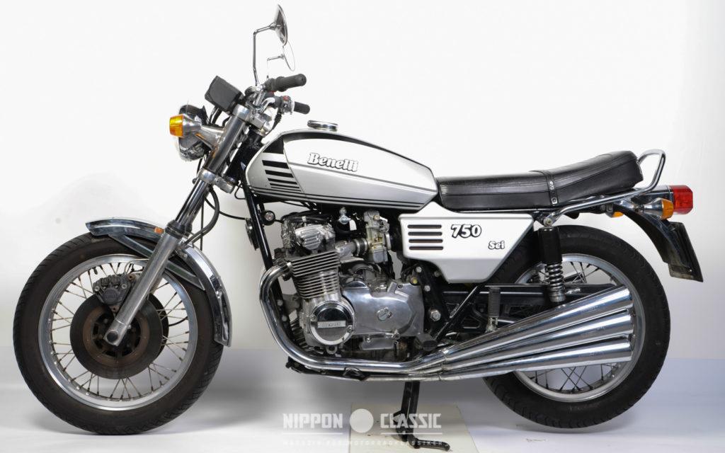 Erstes Serienmotorrad mit 6 Zylindern: Benelli 705 Sei