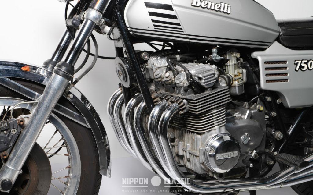 Der Motor der Benelli 705 Sei kommt uns Dank Honda bekannt vor