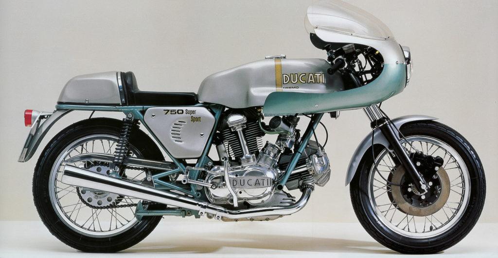 Die Ducati 750 Super Sport Desmo verschaffte ihr den legendären Ruf