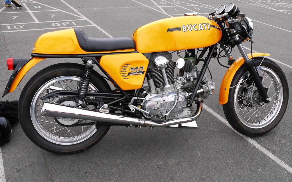 Ein Traum von einem Motorrad: Ducati 750 S