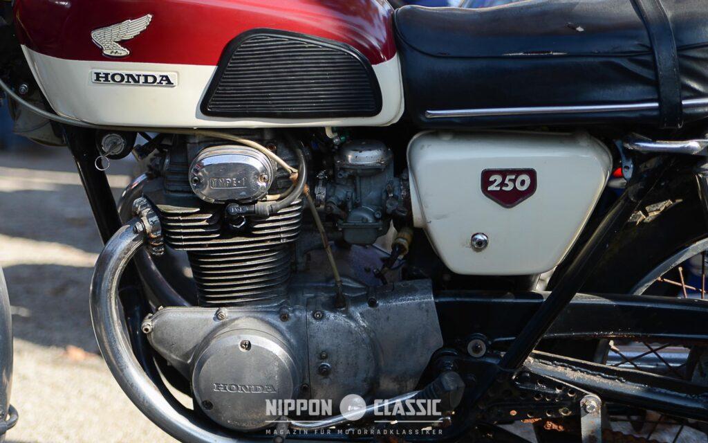 Die Lichtmaschine ist bei der Honda CB 250 K öfters defekt