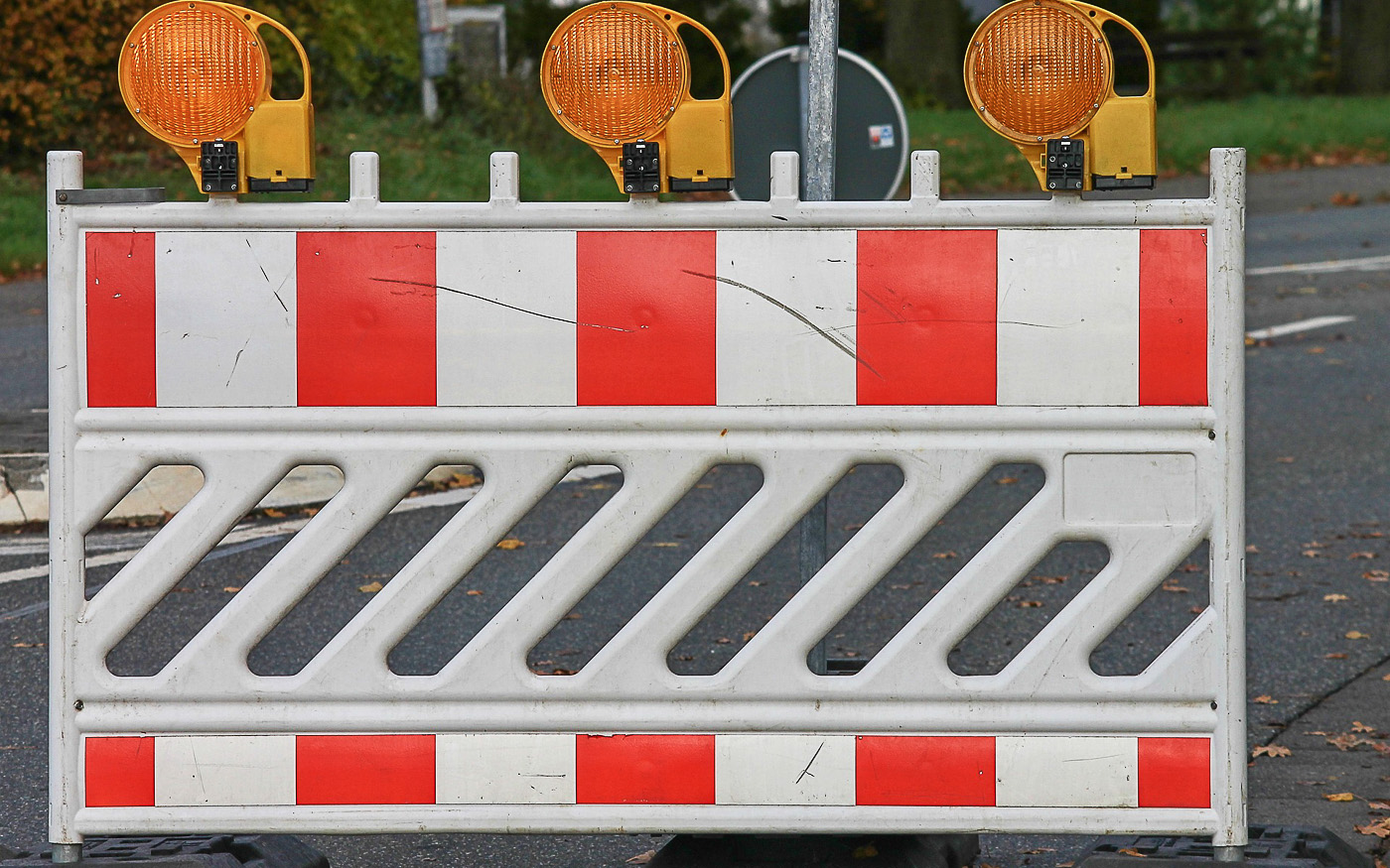 Straßensperrungen für Motorräder