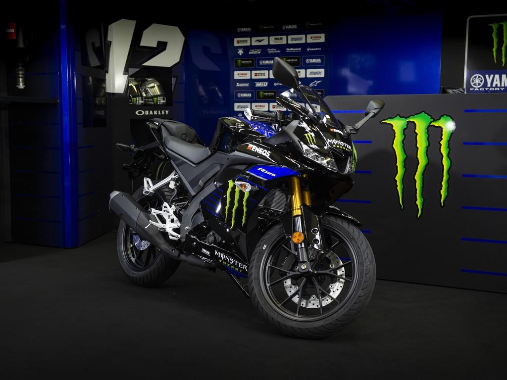 Yamaha YZF-R125 Monster Energy mit dem Renngeist des legendären MotoGP-Teams