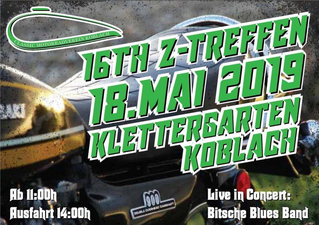 16. Z-Treffen im Kletterpark Koblach am 18.5.2019