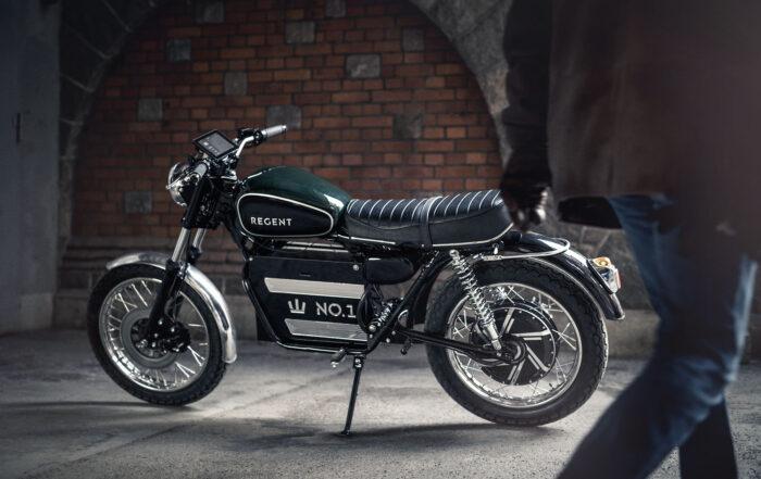 Das Elektromotorrad Regent No. 1 kommt aus Schweden
