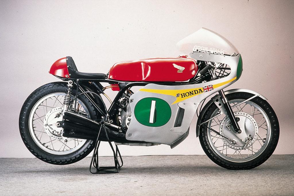 Die Honda RC 161 mit 250 ccm Inline-4-Motor