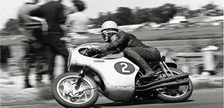 Jim Redman schrieb auch Honda Grand-Prix Geschichte