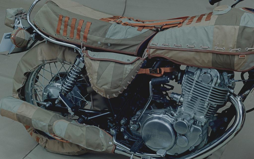 So sieht die Yamaha SR500 verpackt aus