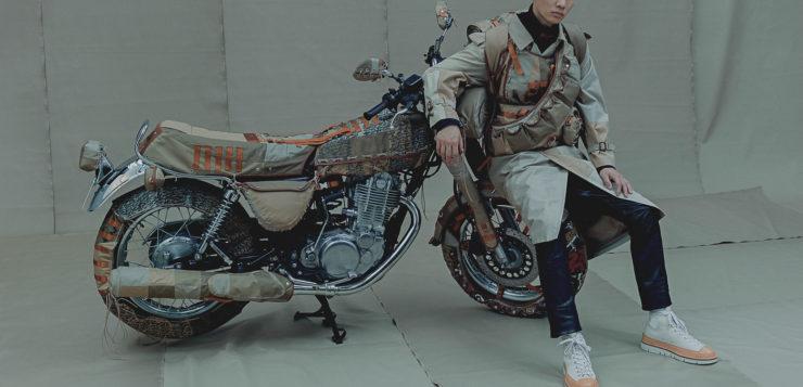 Verrückte Mode für Yamaha SR500