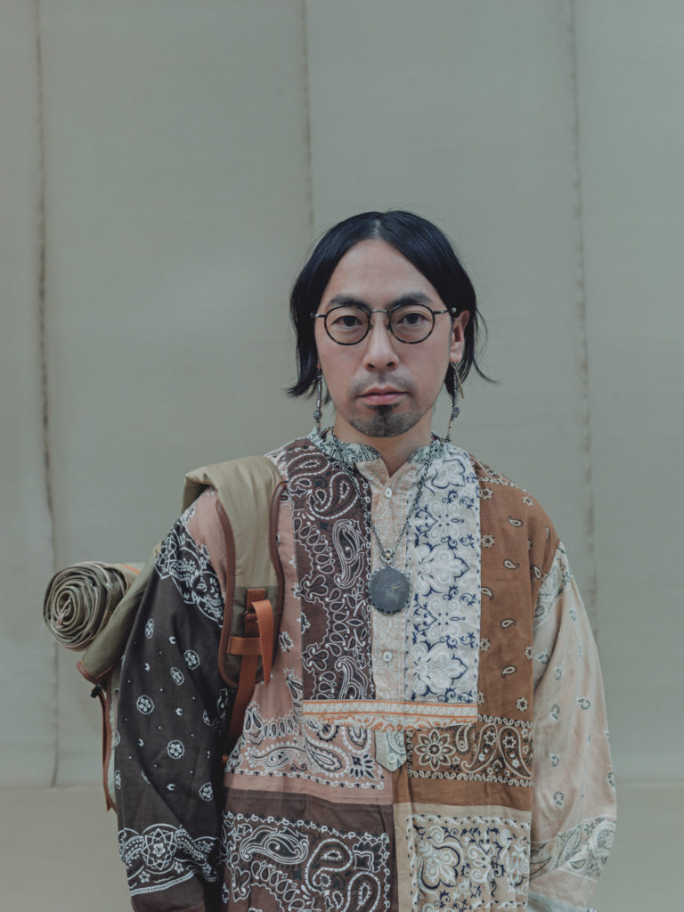 Modedesigner Hideaki Shikama