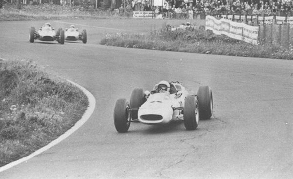 Ronnie Bucknum (RA271) 1964 beim Grand-Prix von Deutschland