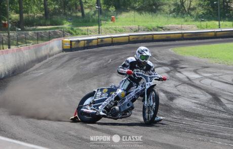 So sieht der Drift vom Profi aus beim Speedway in Wolfslake