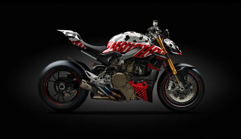 Ducati Streetfighter V4 Prototyp