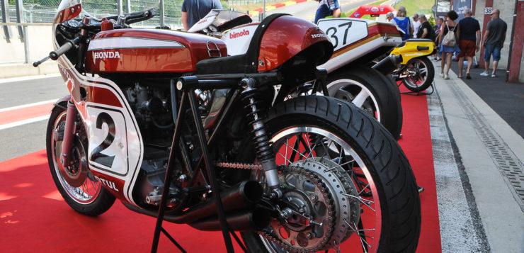 Die großen japansichen Motorradmarken dominierten