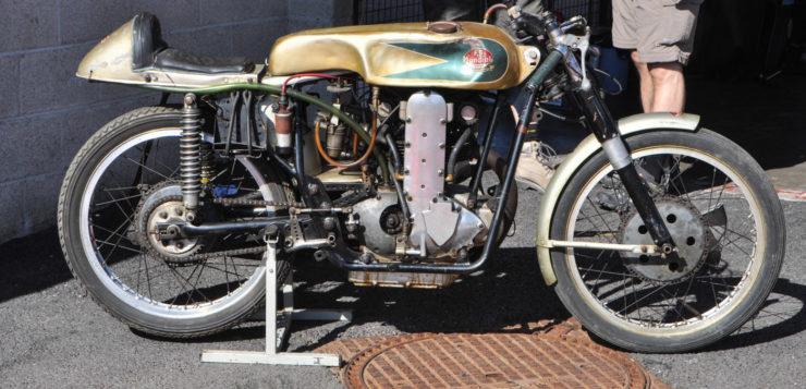 Die Bikers Classics 2019 bot auch uralte Motorräder