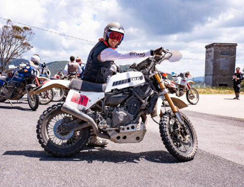 Yamaha und Deus enthüllen die Swank Rally 700