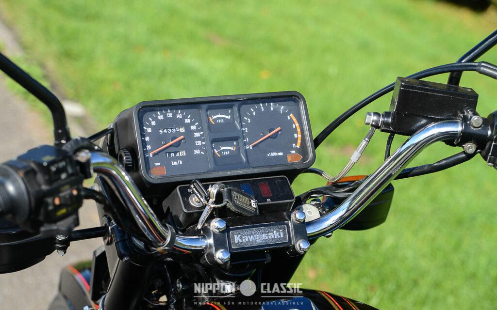 Hohe Laufleistungen sind kein Problem für die Kawasaki Z 1300