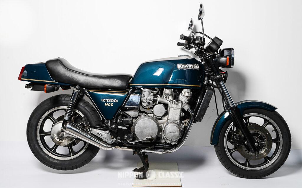 Bei der Kawasaki Z 1300 gilt: Hauptsache mehr als meine Konkurrenten