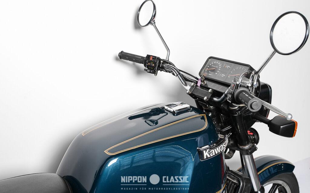 700 Stück der Z1300 musste Kawasaki verkaufen, um die Entwicklungskosten einzuspielen